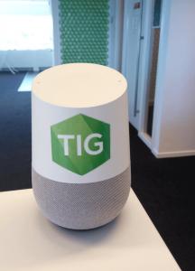 TIG onze Google Home