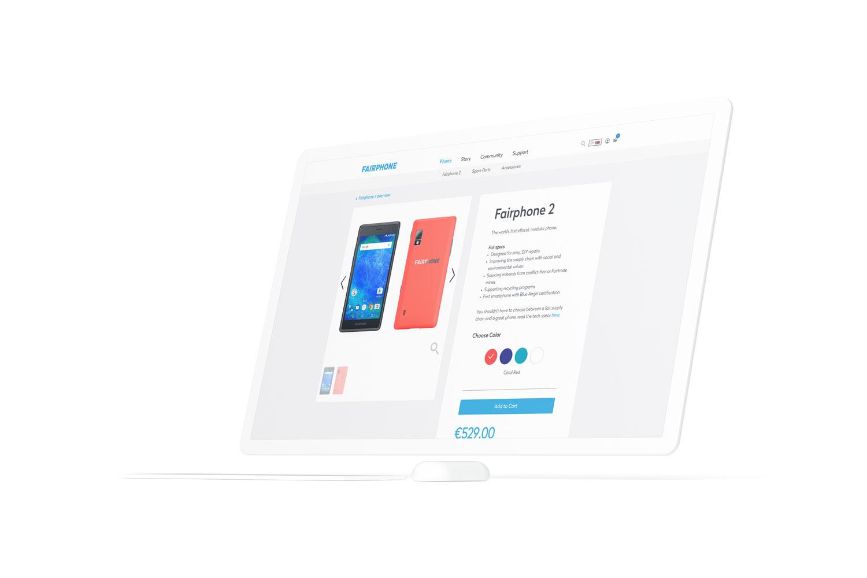 Fairphone productpagina